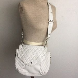 ASH DISTRESSED QUILTED CROSSBODY